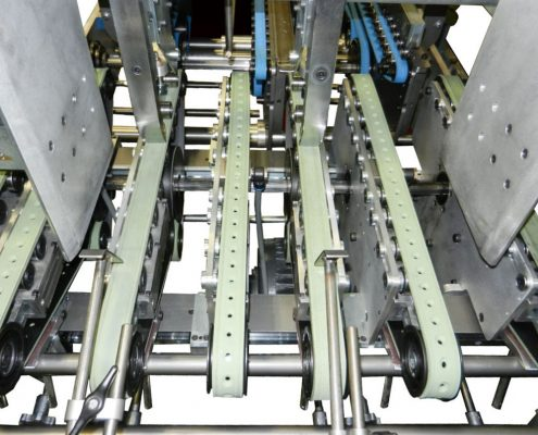 Vacuum Feed Carton Aligner